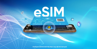 eSIM Vinaphone là gì? Cách đăng ký đổi eSIM online Vina thế nào?